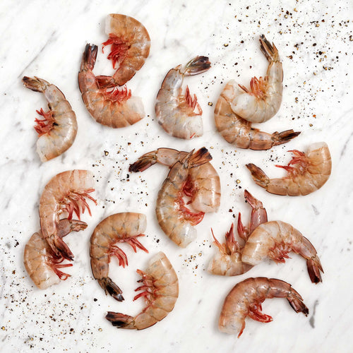 Gulf White Jumbo Shrimp Shell-On