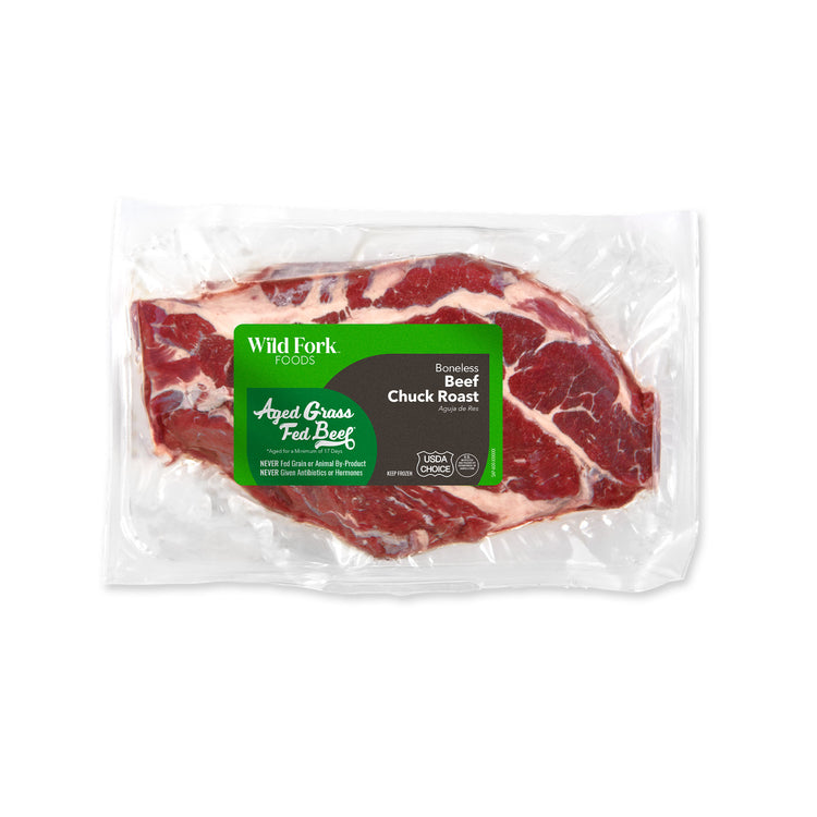 Grass Fed Beef Chuck Roast - Grass Fed Beef Chuck Roast Package