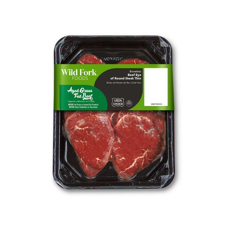Grass Fed Beef Thin Eye of Round Steak - Grass Fed Beef Thin Eye of Round Steak Package