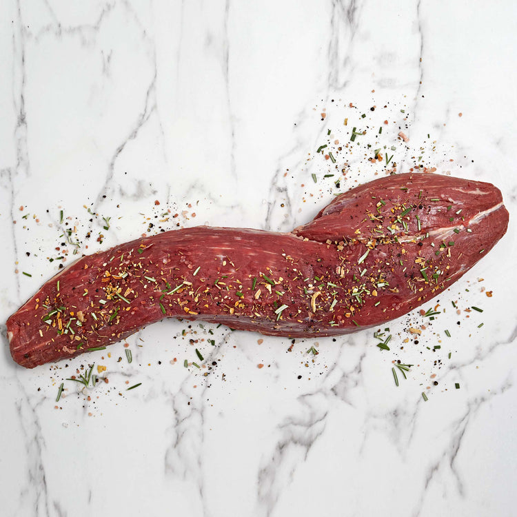 Organic Beef Whole Peeled Tenderloin - Organic Beef Whole Peeled Tenderloin