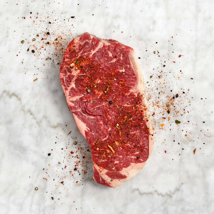 Beef New York Strip Steak* - Beef NY Strip Steak *Enhanced Up To 11% Solution