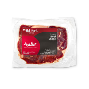 Beef Bone-In Shank in package