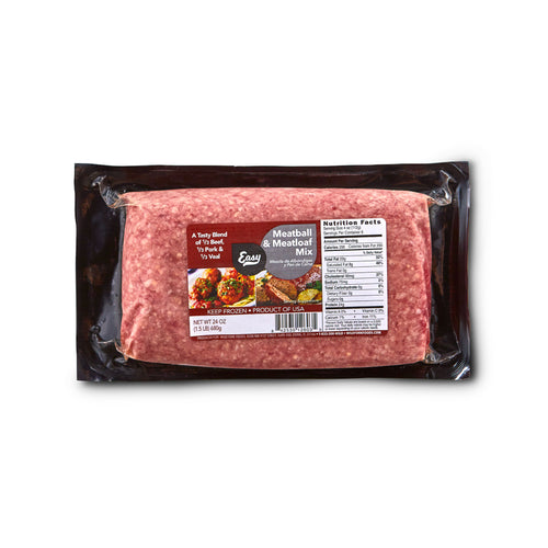 Meatball & Meatloaf Mix of Ground Beef, Pork & Veal - Meatball & Meatloaf Mix of Ground Beef, Pork & Veal Package