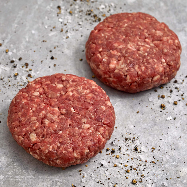 Thick Angus Beef Chef Style Burgers - Thick Beef Angus Patties