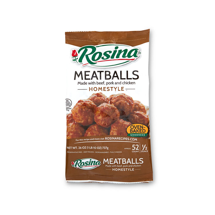 Homestyle Meatballs - Rosina - Homestyle Meatballs - Rosina Packaging