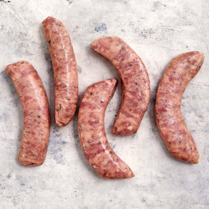 Pork Steakhouse Sausages Raw
