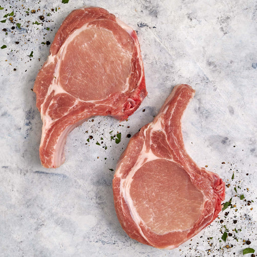 Bone-In Pork Thick Ribeye Chop - Bone-In Pork Thick Ribeye Chop