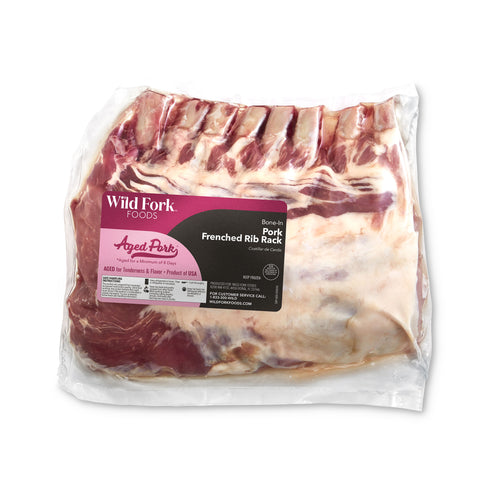 Frenched Pork Rib Rack - Frenched Pork Rib Rack