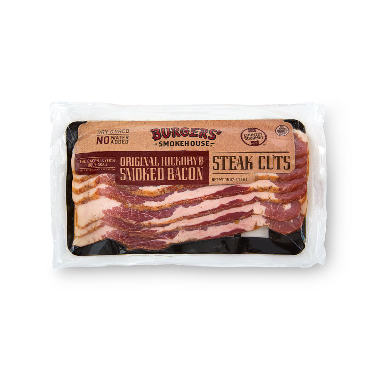 Original Bacon Steak - Original Bacon Steak in package
