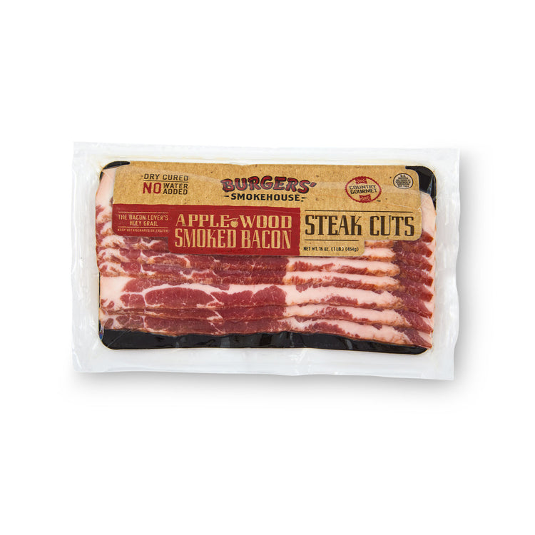 Applewood Bacon Steak - Applewood Bacon Steak in package