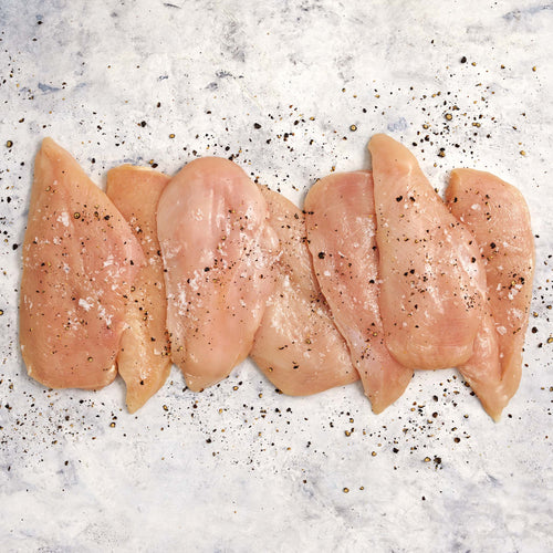 Antibiotic-Free Chicken Thin Sliced Breasts - Antibiotic Free Boneless Skinless Chicken Thin Sliced Breasts