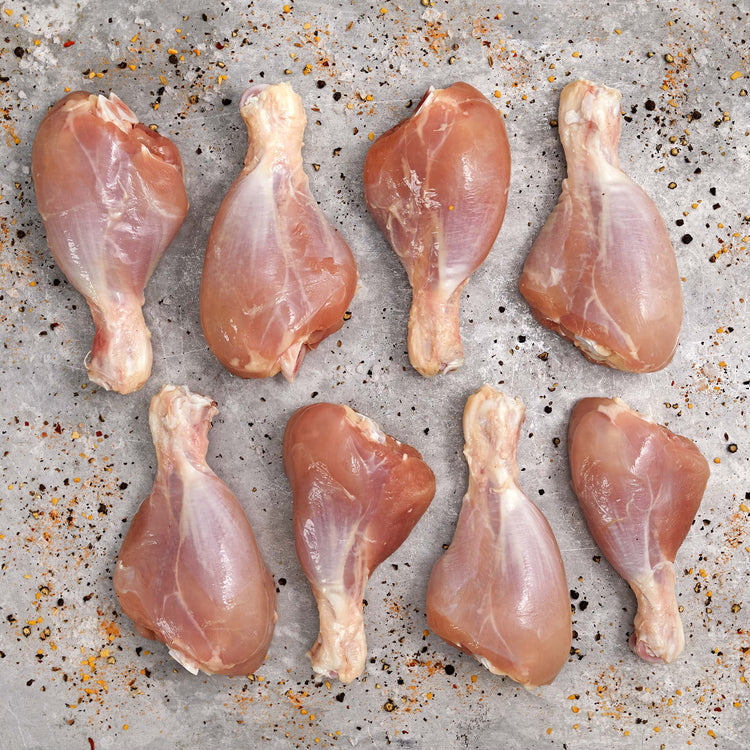 Antibiotic Free Skinless Chicken Drumsticks - Antibiotic-Free Bone-In Skinless Chicken Drumsticks
