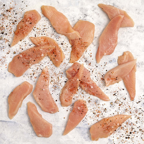 Organic Chicken Breast Strips - Organic Chicken Breast Strips