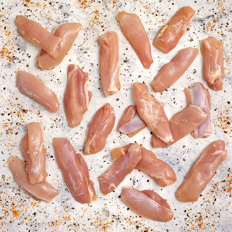Organic Chicken Thigh Strips - Organic Chicken Thigh Strips