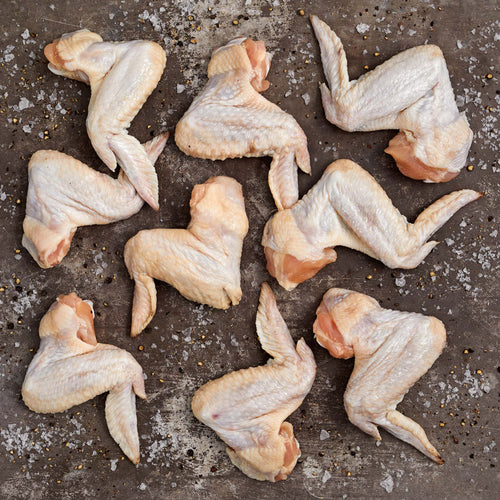 Chicken Wings* - Chicken Wings Enhanced up to 15% solution*