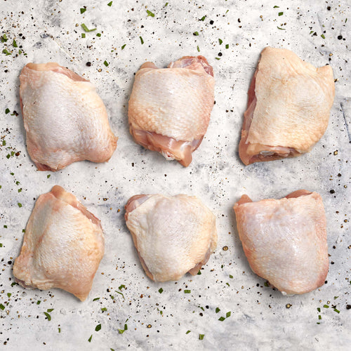 Organic Chicken Thighs - Organic Chicken Thighs