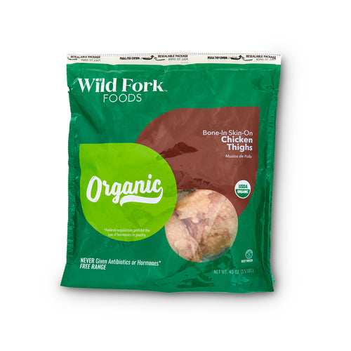 Organic Chicken Thighs - Organic Chicken Thighs Package