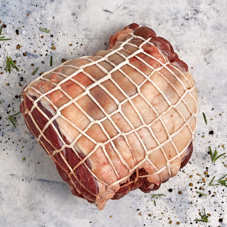 Grass Fed Boneless Mini Leg Lamb Roast - lamb_half_leg_roast