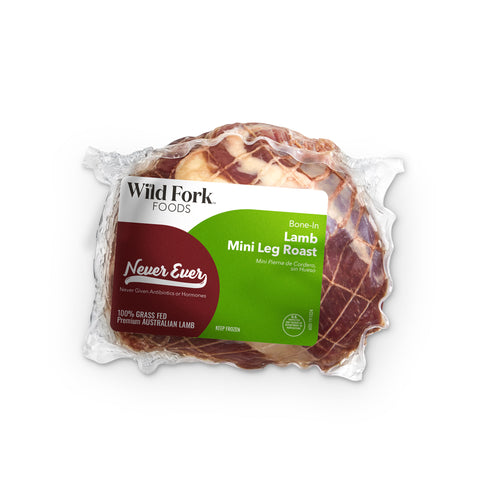 Grass Fed Boneless Mini Leg Lamb Roast - Grass Fed Boneless Mini Leg Lamb Roast