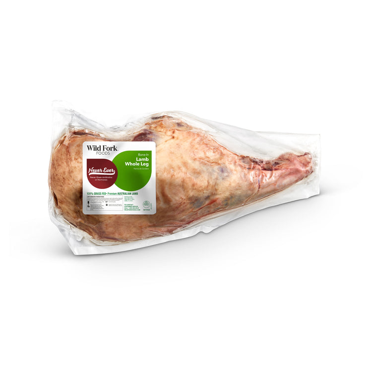 Grass Fed Bone-In Whole Lamb Leg - Grass Fed Bone-In Whole Lamb Leg