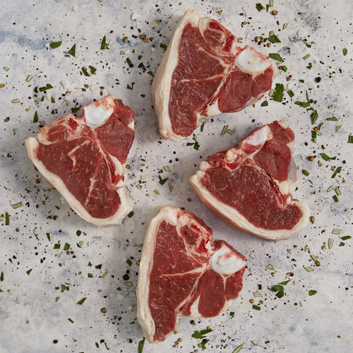 Lamb Bone-In Loin Chops