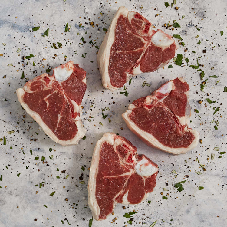 Lamb Bone-In Loin Chops - Lamb Bone-In Loin Chops