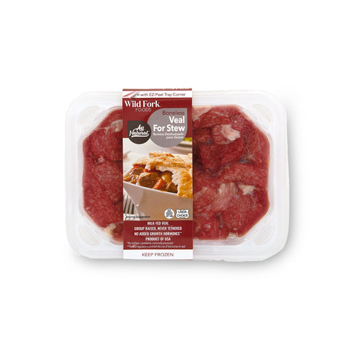 Veal Stew Meat - Veal Stew Meat Package