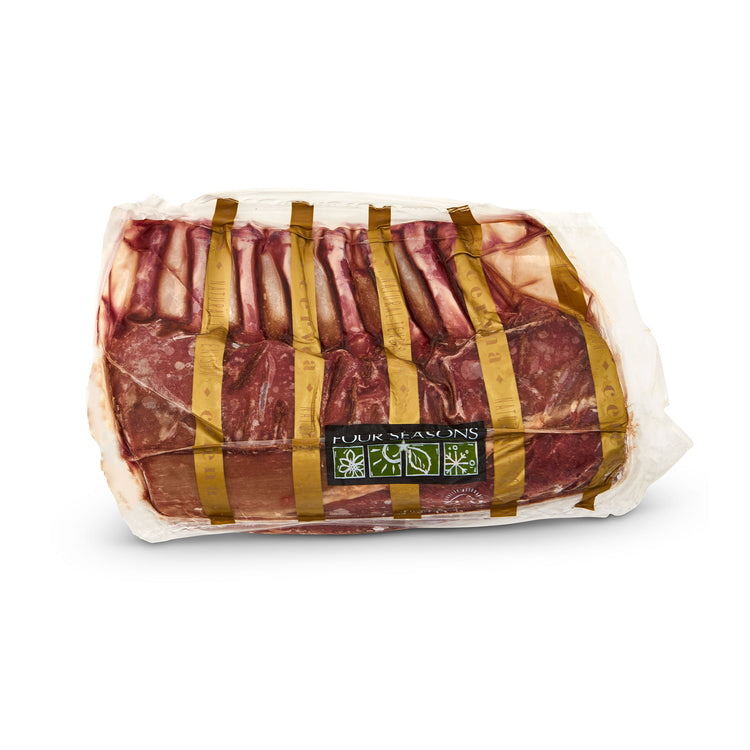 Venison Frenched Rib Rack - Fossil Farms - Venison Frenched Rib Rack - Fossil Farms Packaging