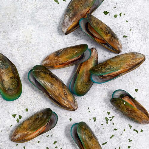Fully Cooked Green Shell Mussels - Panapesca