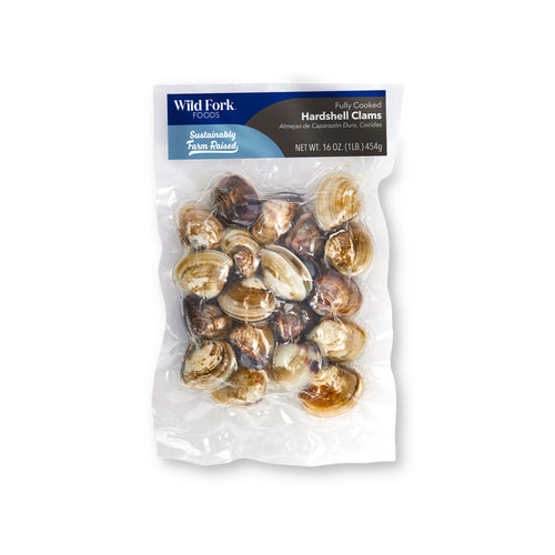 Fully Cooked Hard Shell Clams - Fully Cooked Hard Shell Clams