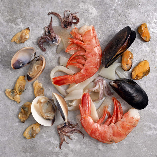 Seafood Mix with Shells