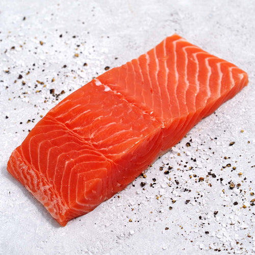 Skin-On Sockeye Salmon