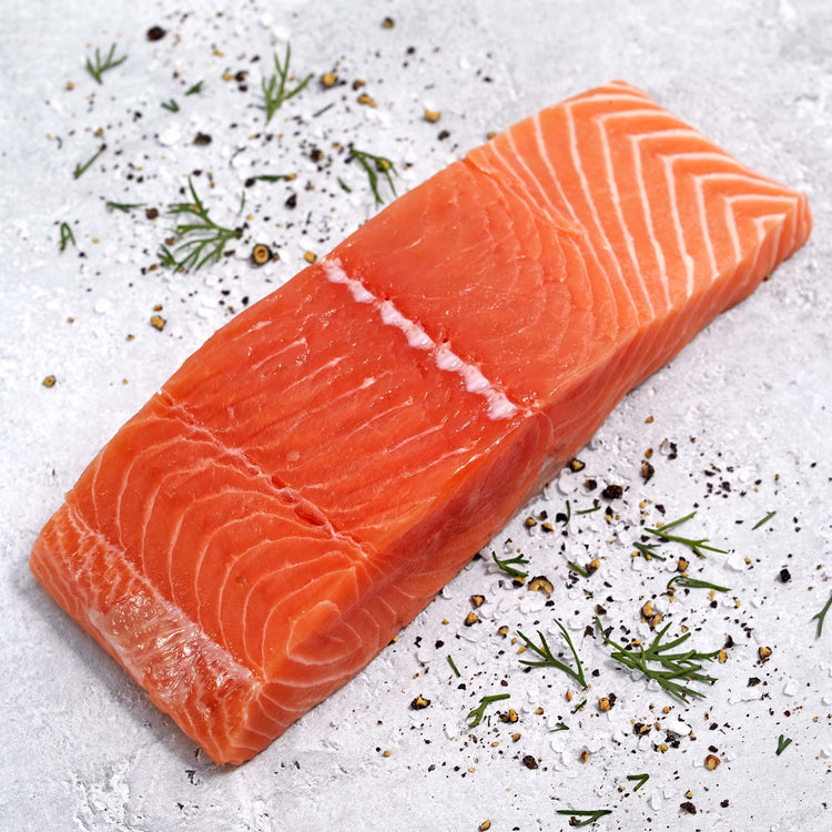 Skin-On King Salmon - King Salmon