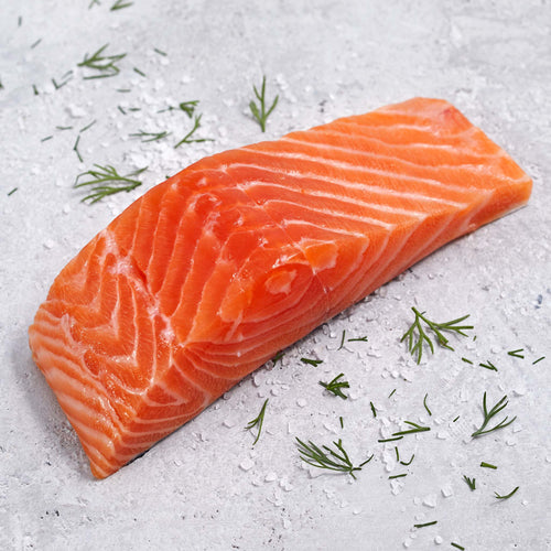 Skin-On Atlantic Salmon Fillets - Skin On Atlantic Salmon