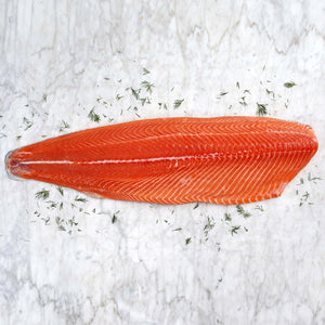 Skin-On Whole Atlantic Salmon