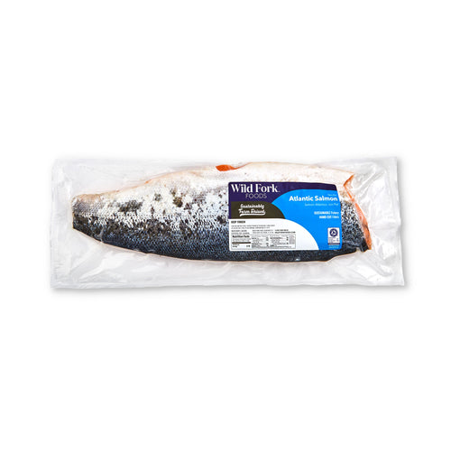Skin-On Whole Atlantic Salmon - Skin-On Whole Atlantic Salmon