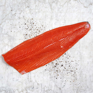 Skin-On Whole Sockeye Salmon