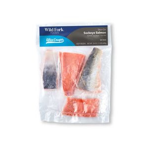 Skin-On Sockeye Salmon Fillets