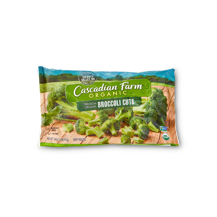 Organic Broccoli - Cascadian Farms - Organic Broccoli - Cascadian Farms Package