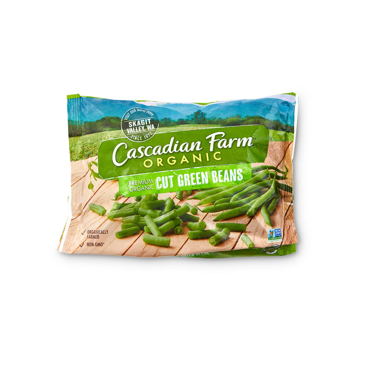 Organic Green Beans - Cascadian Farms - Organic Green Beans - Cascadian Farms Package