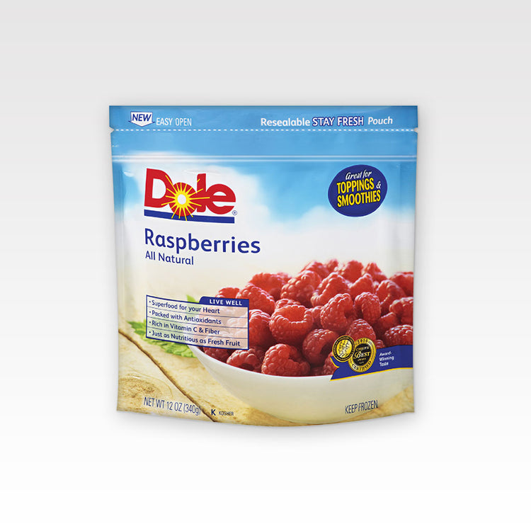 Whole Raspberries - Whole Raspberries - Dole In package