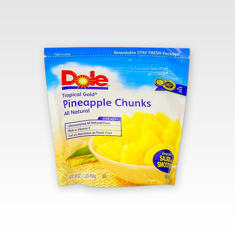 Pineapple Chunks - Pineapple Chunks - Dole - inpackage