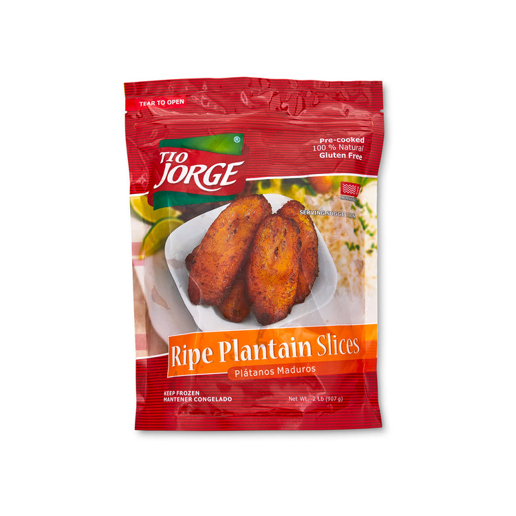 Ripe Plantain Slices - Ripe Plantain Slices - Tio Jorge Packaging