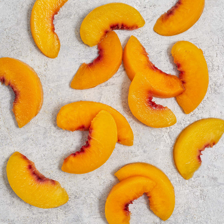 Organic Sliced Peaches - Cascadian Farms - Organic Sliced Peaches - Cascadian Farms