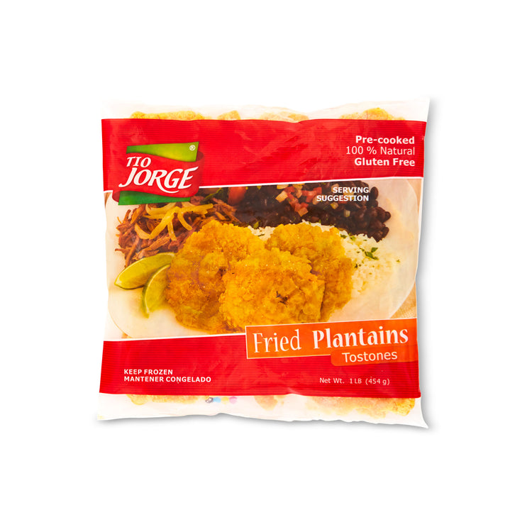 Plaintain Tostones - Tio Jorge - Plaintain Tostones - Tio Jorge Packaging