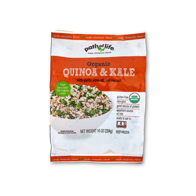 Organic Quinoa & Kale - Organic Quinoa & Kale - Path of Life Packaging