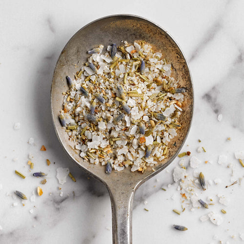 Lavender Rosemary Salt - Lavender Rosemary Salt