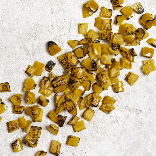 Fire Roasted Diced Tomatillos - Heart and Soul
