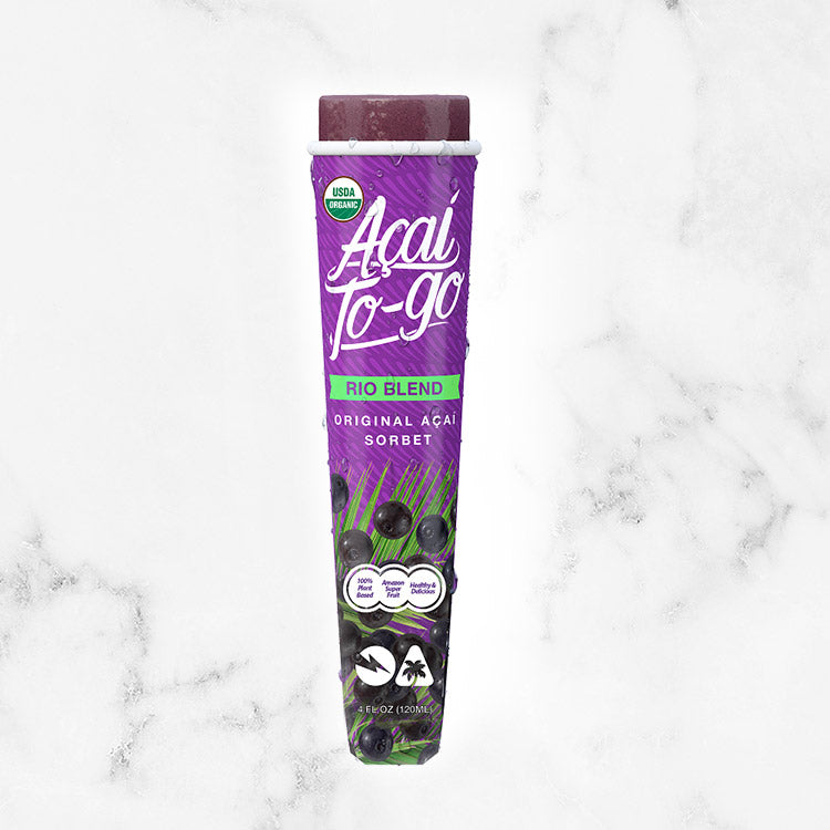 Acai To Go Rio Blend - Organic Amazon - Acai-To-Go-Rio-Blend-Product-Single-Tube-Whole