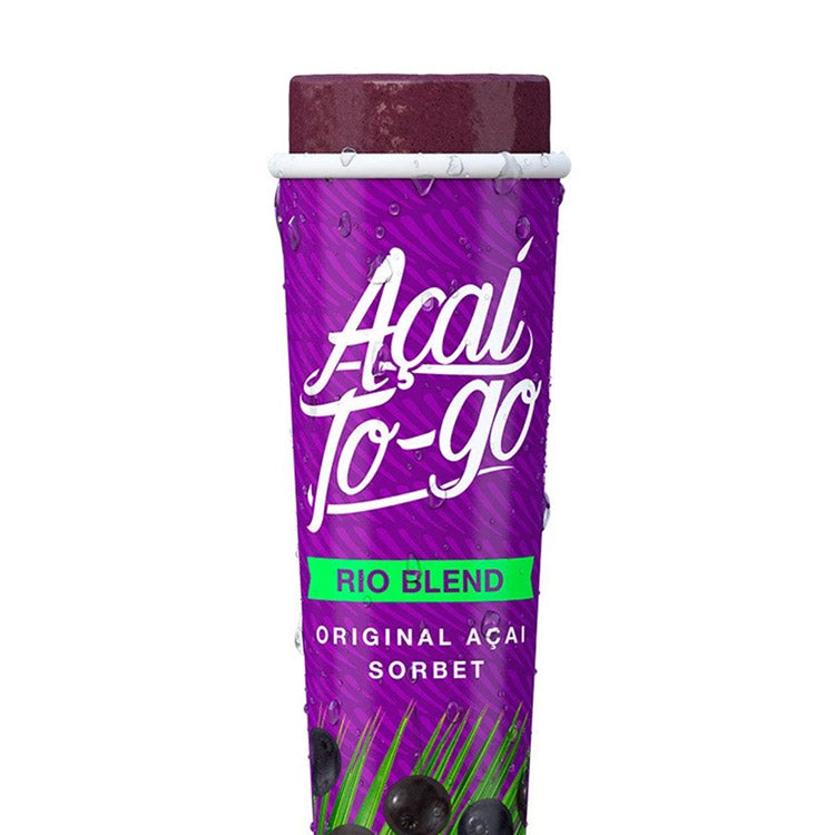 Acai To Go Rio Blend - Organic Amazon - Acai-To-Go-Rio-Blend-Product-Single-Tube-Half